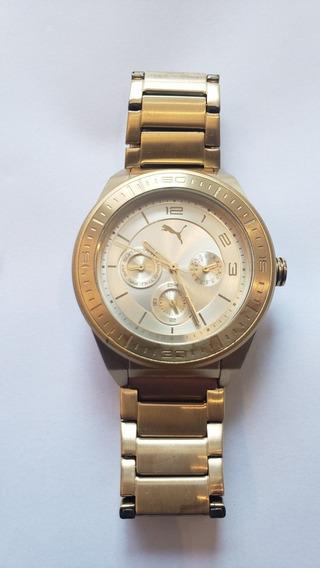 Relógio De Pulso Puma 96172 Rose Feminino