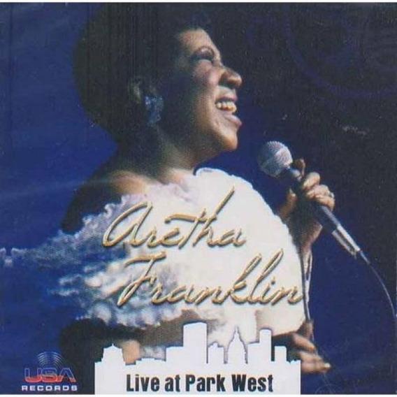 Aretha Franklin Live At Park West - Cd Pop