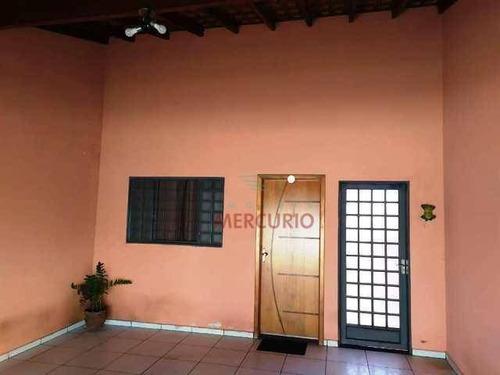 Imagem 1 de 17 de Casa À Venda, 95 M² Por R$ 215.000,00 - Parque Jaraguá - Bauru/sp - Ca3266