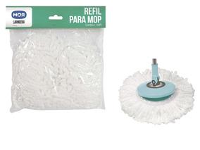Refil Avulso Para Esfregão Vassoura Mop Limpeza Pratica Mor
