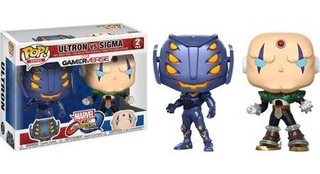 Funko Pop! Juegos: Marvelvcapcom 2pk - Ultron Vs Sigma