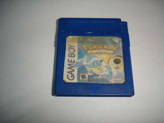 Pokemon Azul Blue Original Espanhol Gameboy C03