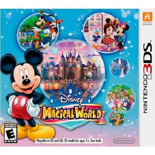 3ds Disney Magical World Novo Lacrado