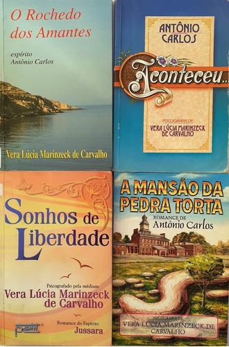 4 Vera Lucia Marinzeck - O Rochedo Dos Amantes + 3 Livros