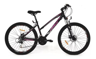 Bicicleta Fire Bird Mtb Lady Alum 21 Vel Rod 27 Disco Envio
