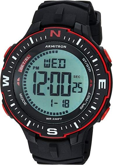 Relógio Armitron Digital A Prova D Água Importado