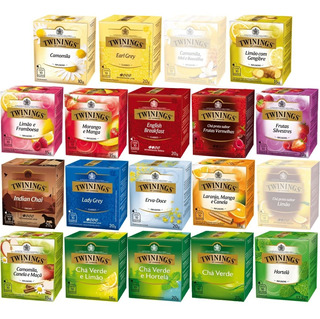 Twinings Of London Chá 10 Caixas Com Total De 100 Sachês
