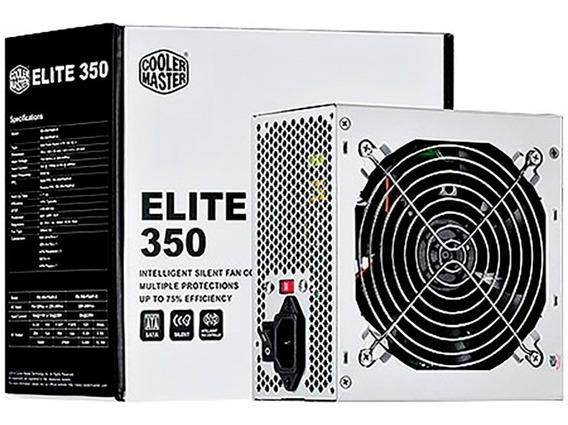 Fonte 350w Elite R.rs350-psari3 - Coolermaster