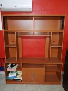 Librero-tv De Madera