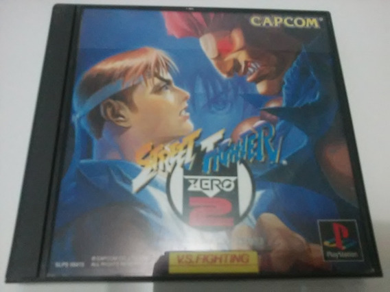 Street Fighter Zero 2 Original Japonês - Ps1 - Frete Grátis