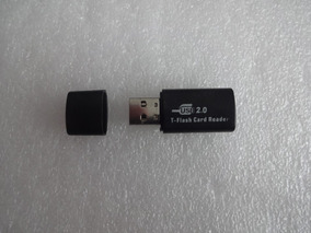 Leitor Cartao T-flash Card Reader Usb 2.0 - Estilo Pendrive