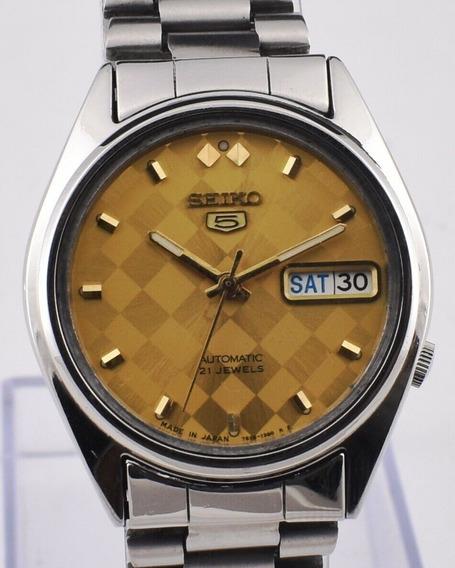 Relógio Seiko 5 Automático 7s26 1390r2 Perfeito Estado Lindo