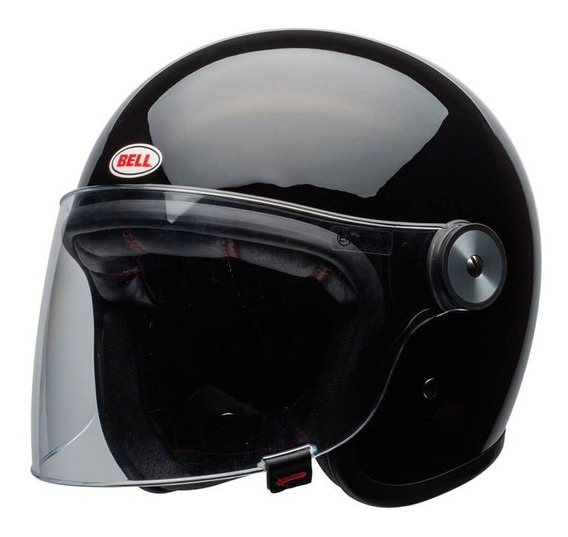 Capacete Bell Riot Solid Preto Rs1