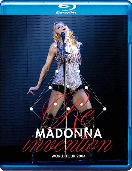 Bluray Madonna - Re-invention Tour Lisboa (madame X)