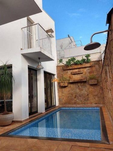 Casa Com 5 Dormitórios À Venda, 279 M² Por R$ 1.200.000,00 - Alto Da Boa Vista - Ribeirão Preto/sp - Ca0652