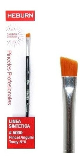 Heburn Pincel Maquillaje Angular Toray Linea Sintetica 5000