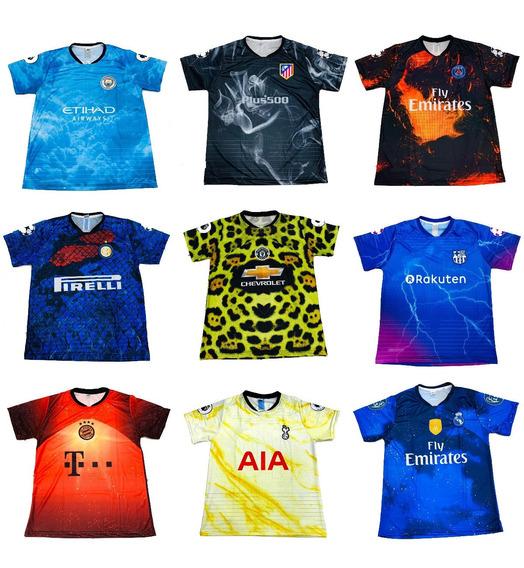 Kit 10 Camisetas De Time Atacado Seleção Europeu 2020 Barato