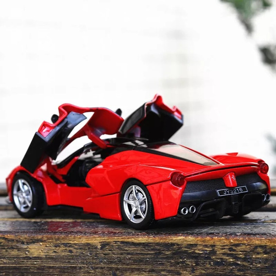 Ferraris Escala 1:32 Alloy Diecast Modelo De Carro