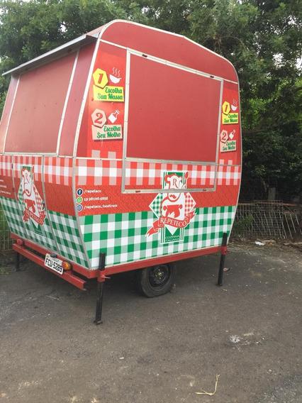 Vendo Trayller Para Utilização Como Food Trucky
