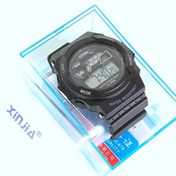 Relógio Militar Esportivo A Prova D´água Xinjia! Com Caixa!