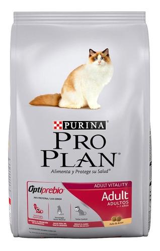Imagen 1 de 1 de Alimento Pro Plan Adult para gato adulto sabor pollo/arroz en bolsa de 15kg