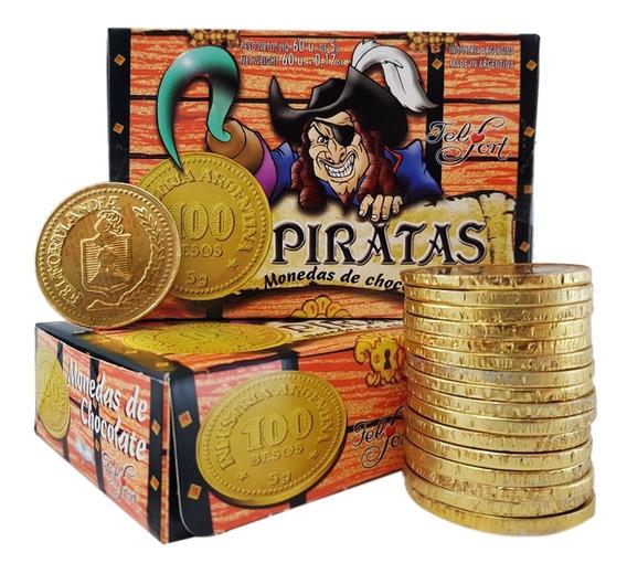 Monedas Piratas Chocolate Promo 60un - Barata La Golosineria