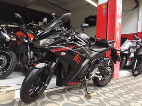 Yamaha Yzf-r3 Ano 2016 Preta Shadai Motos
