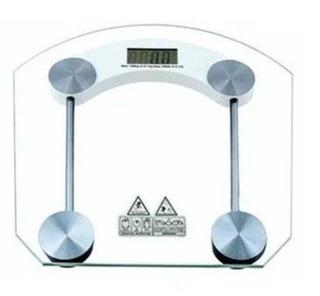 Balança De Qualidade De Chão Painel Digital De Vidro 180kg