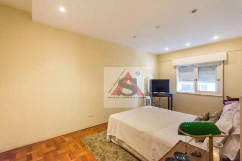 Apartamento Com 2 Dormitórios, 90 M² - Venda Por R$ 1.100.000,00 Ou Aluguel Por R$ 5.600,00/mês - Cerqueira César - São Paulo/sp - Ap27782
