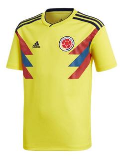 adidas Colombia Jersey 2018 Niño L Mundial Futbol Original
