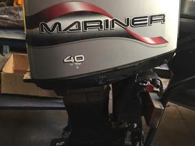 Motor De Popa Mariner-mercury Americano 40hp Sucata-peças