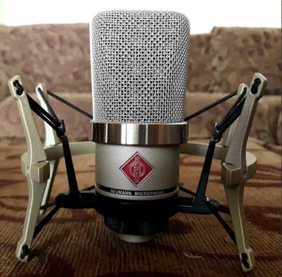 Microfone Neumann Tlm 102 Com Shock Mount