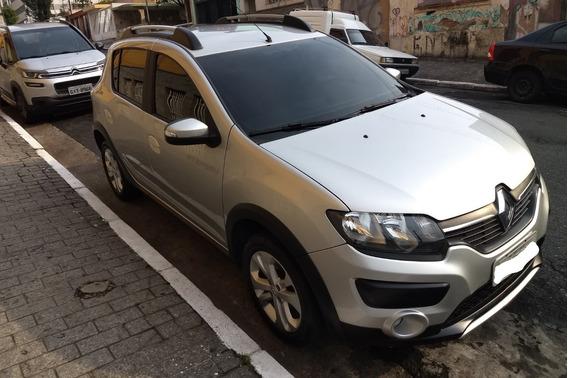 Renault Sandero Stepway, 1.6, 2016 Automático, Cor Prata