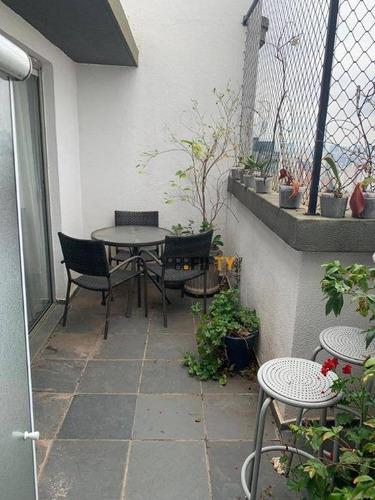 Cobertura, 129 M² - Venda Por R$ 1.100.000,00 Ou Aluguel Por R$ 6.000,00/mês - Campo Belo - São Paulo/sp - Co1870