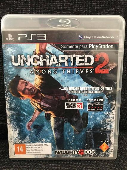 Jogo Uncharted 2 Ps3 Play 3 - #frete Grátis #