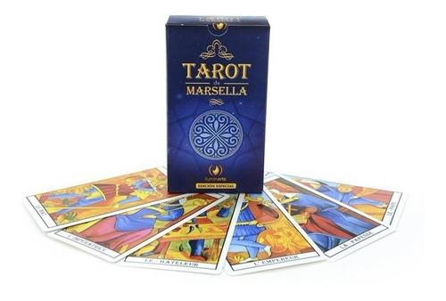 Tarot Marselles 78 Cartas Plastificadas Santería Córdoba