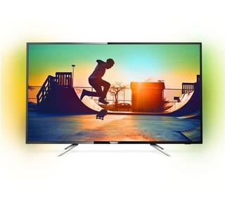 Smart Tv 55 Philips 4k Con Ambilight 55pug6212/77
