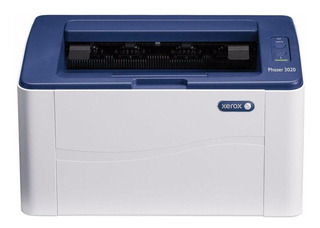 Impresora Xerox Phaser 3020/BI con wifi 110V - 127V blanca y azul