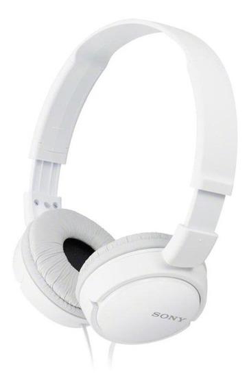 Fone de ouvido Sony ZX Series MDR-ZX110AP branco