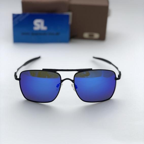 Óculos De Sol Masculino Deviation Azul Polarizado Co00-5347