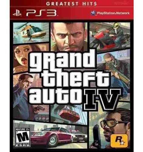 Grand Theft Auto Iv Gta 4 Ps3 Mídia Física Pronta Entrega