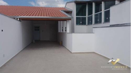 Cobertura À Venda, 88 M² Por R$ 380.000,00 - Vila Santa Teresa - Santo André/sp - Co0468