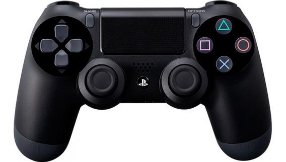 Control Ps4 Segunda Generacion Dualshock 4 Negro Playstation