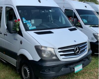 Renta De Camionetas Con Chofer - Operador Sprinter 20 Pax.