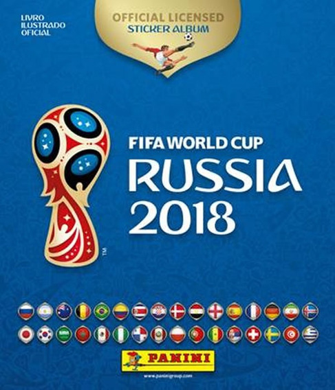 Album - Fifa World Cup Russia 2018 - Brochura Capa Dura