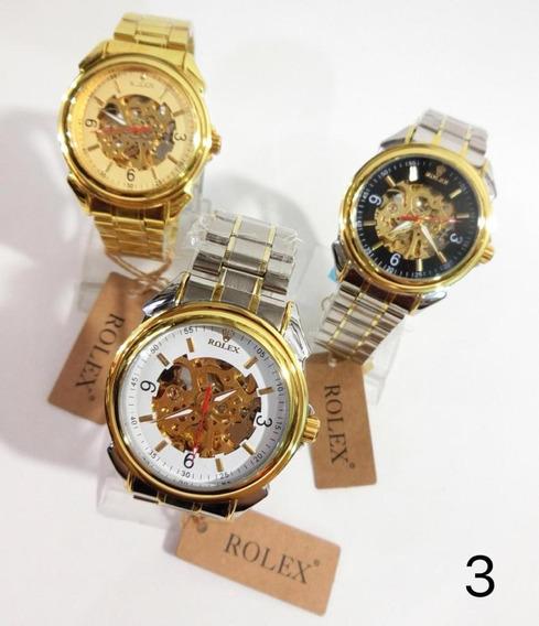 Reloj Omega Rolex Fossil Automatico