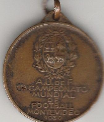 Medalha Da Copa Do Mundo Do Uruguai De 1930