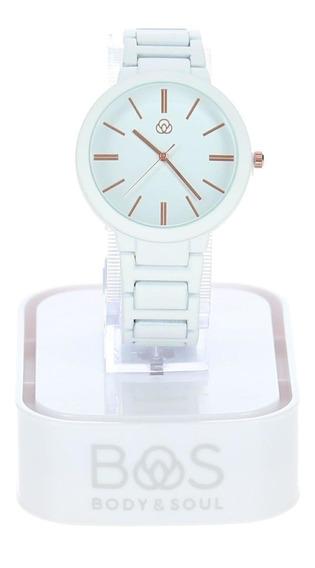 Reloj Tioga Blanco Body & Soul