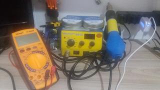 Kit Bancada Assistência De Celular Manutenção E Eletrônica