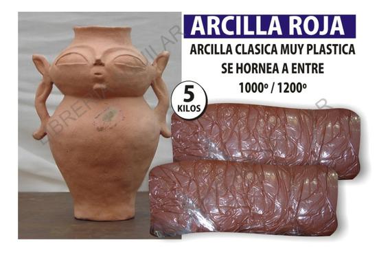 Arcilla Roja Pastaceramica Por 5 Kilos P/ Ceramista Escultor